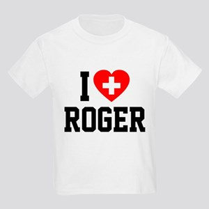 I Love Roger Kids Light T-Shirt