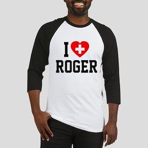 I Love Roger Baseball Jersey