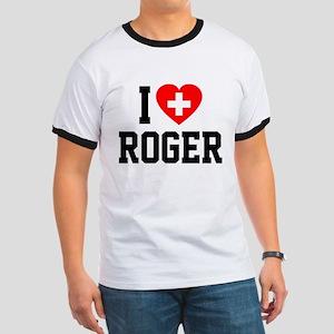 I Love Roger Ringer T