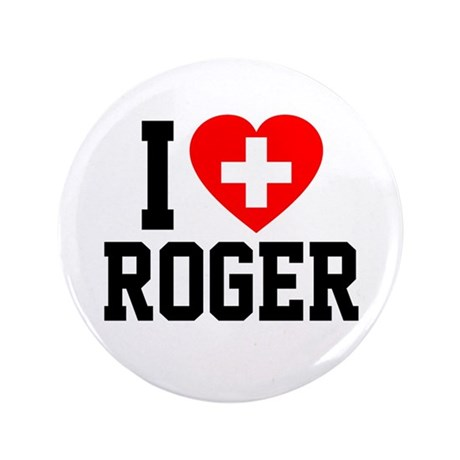 """I Love Roger 3.5"""" Button"""