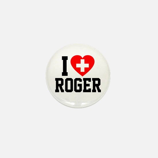 I Love Roger Mini Button