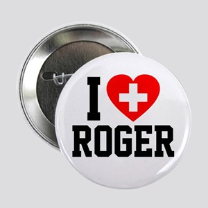 """I Love Roger 2.25"""" Button"""