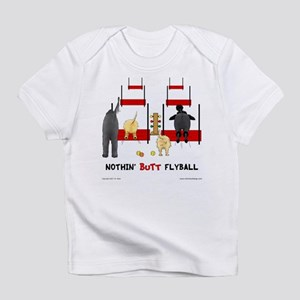 b7c3b8713a3 Nothin  Butt Flyball Infant T-Shirt