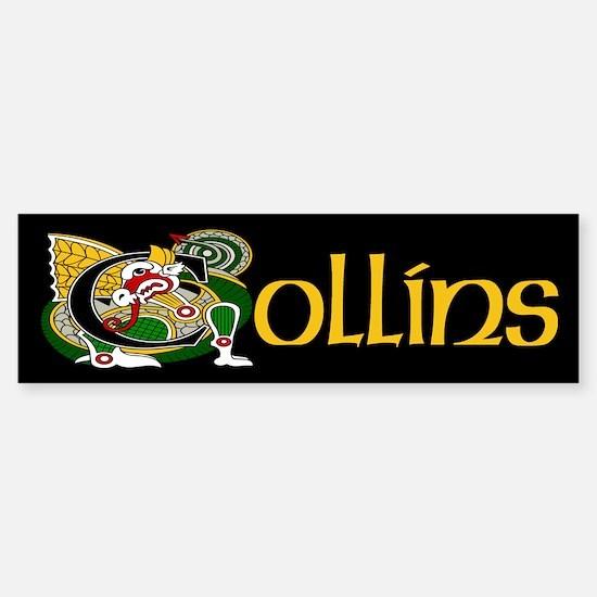 Collins Celtic Dragon Sticker (Bumper)