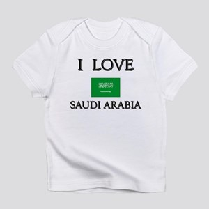 I Love Saudi Arabia Creeper Infant T-Shirt