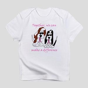 The Basset Boys Wear Pink Infant T-Shirt