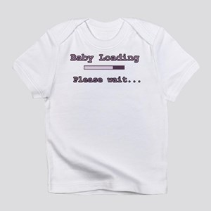 Purple Baby Loading Infant T-Shirt