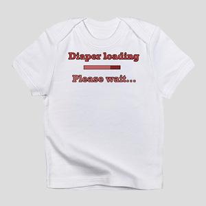 Red Diaper Loading Infant T-Shirt