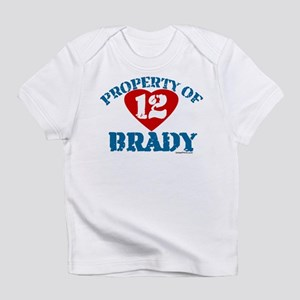 PROPERTY OF (12 heart) BRADY Infant T-Shirt