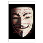 Guy Fawkes Mask Poster