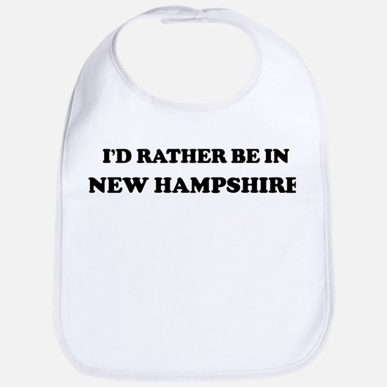 Rather be in New Hampshire Bib