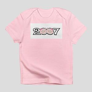 2007 Girl Pigs Infant T-Shirt