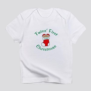 Twins First Stocking Infant T-Shirt