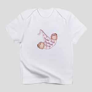Girl Babies First Christmas Infant T-Shirt