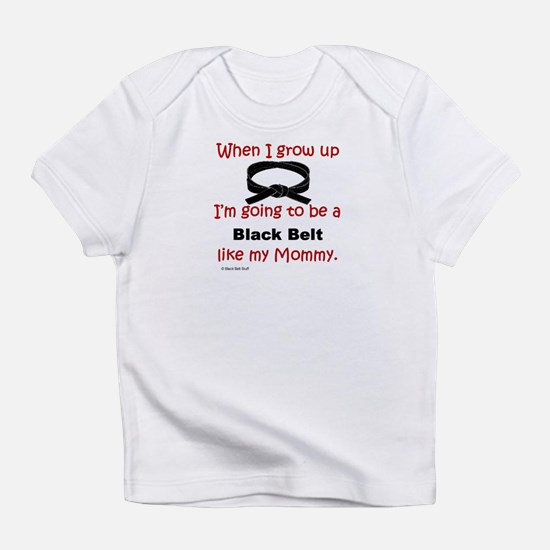 Cute Karate black belt Infant T-Shirt