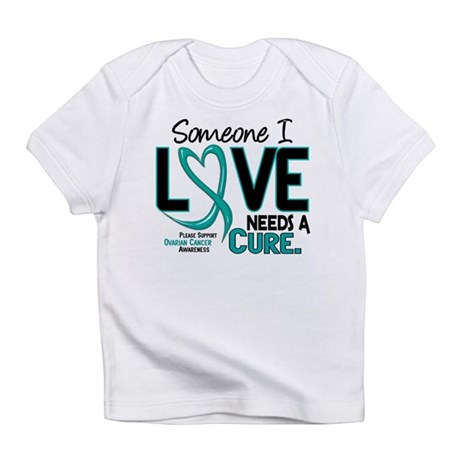 Needs A Cure 2 OVARIAN CANCER Infant T-Shirt