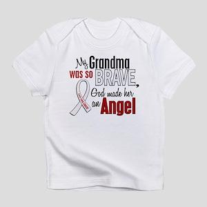 Angel 1 GRANDMA Lung Cancer Infant T-Shirt