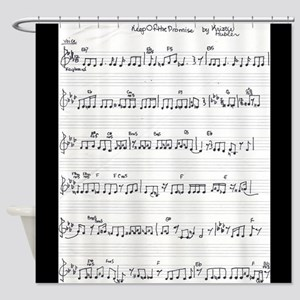 handwritten sheet music song keep of the promise s