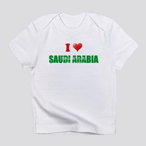 I love Saudi Arabia Infant T-Shirt