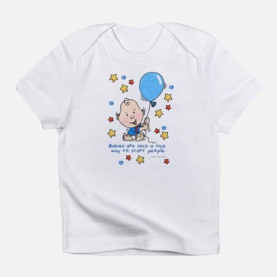 Baby with Balloon Creeper Infant T-Shirt