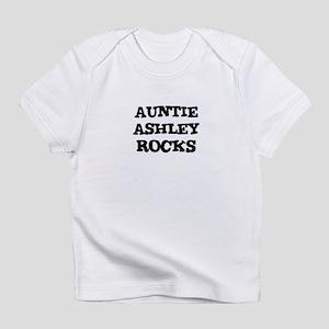 AUNTIE ASHLEY ROCKS Creeper Infant T-Shirt