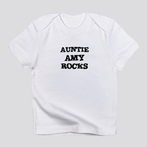 AUNTIE AMY ROCKS Creeper Infant T-Shirt