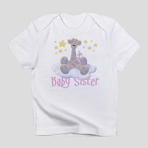 Baby Sister Giraffe Infant T-Shirt
