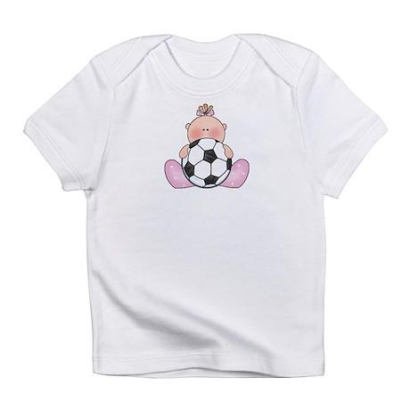 Lil Soccer Baby Girl Infant T-Shirt