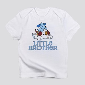 Cute Puppys Little Brother Infant T-Shirt