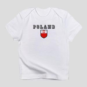 Poland Soccer Infant T-Shirt