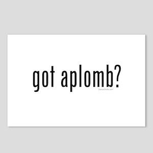 got aplomb? by DanceShirts.com Postcards (Package