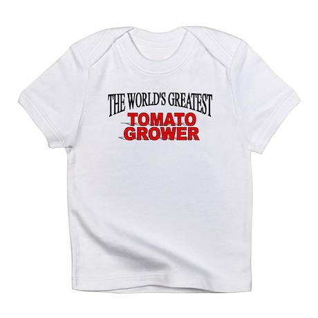 """The World's Greatest Tomato Grower"" Bodysu Infant"