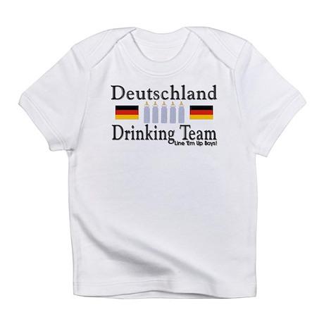 Deutschland Drinking Team Creeper Infant T-Shirt