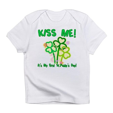 Kiss Me! Baby's First St. Pat Infant T-Shirt
