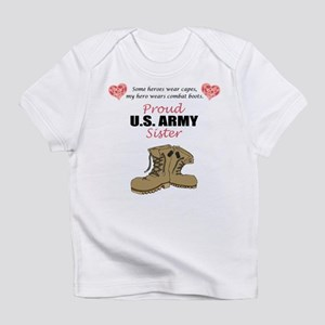 Proud US Army Sister Infant T-Shirt