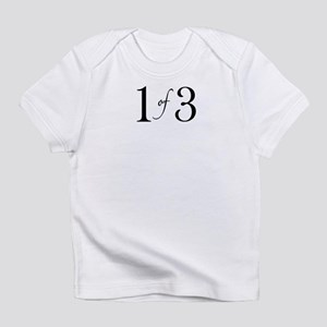 1 of 3 (1st born oldest child) Infant T-Shirt