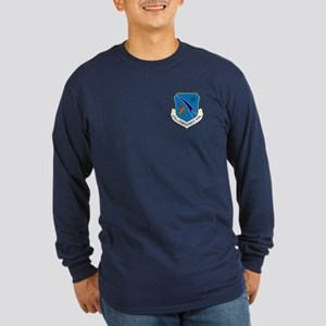 456th Bomb Wing Long Sleeve T-Shirt (Dark)