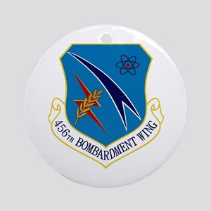 456th Bomb Wing Ornament (Round)