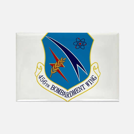 456th Bomb Wing Rectangle Magnet