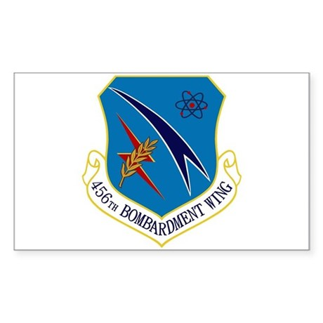 456th Bomb Wing Sticker (Rectangle)
