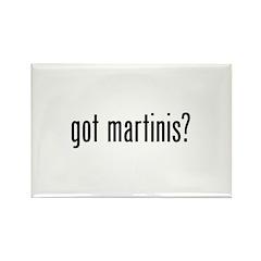 Got Martinis Rectangle Magnet