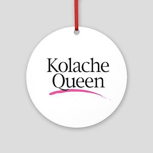 Kolache Queen Ornament (Round)