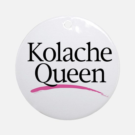 Kolache Queen Ornament (Round)