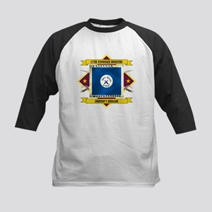 17th Tennessee Infantry Kids Baseball Jersey