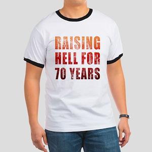 Raising Hell 70th Birthday Ringer T