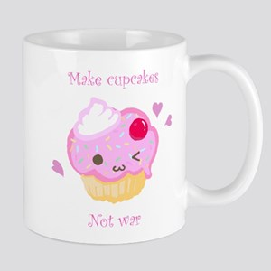 """Make Cupcakes, Not War"" Mug"