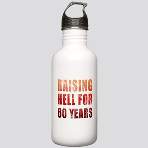 Raising Hell 60th Birthday Stainless Water Bottle