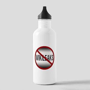 Anti-Wikileaks Stainless Water Bottle 1.0L