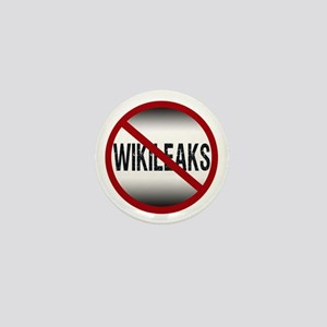 Anti-Wikileaks Mini Button