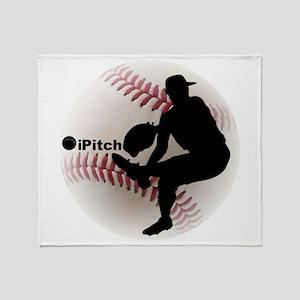 iPitch Baseball Throw Blanket